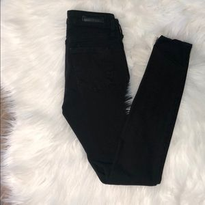 Articles of Society size 24 black skinny jeans.